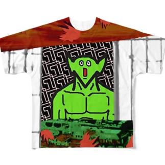 あっけにとられたアピール Full graphic T-shirts