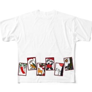 沖縄花札3 Full Graphic T-Shirt