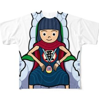 あっちゃん大魔王 Full graphic T-shirts