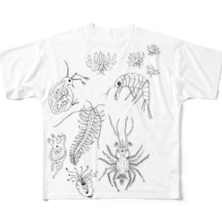 びせいぶつんん Full Graphic T-Shirt
