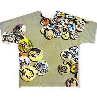 プリントバッヂ Full Graphic T-Shirt