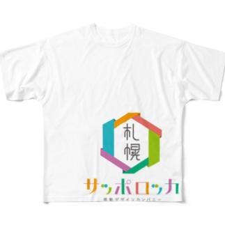 感動デザインカンパニー「サッポロッカ」 Full graphic T-shirts