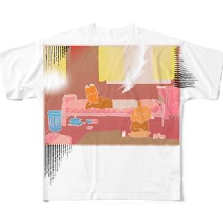 西日の部屋 Full Graphic T-Shirt
