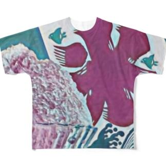 THE 夏🍧 Full Graphic T-Shirt