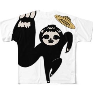 迫ってくるぺれぞう Full graphic T-shirts