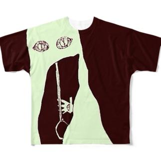 おおきいもの Full graphic T-shirts