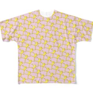 たらららおどり格子 Full Graphic T-Shirt