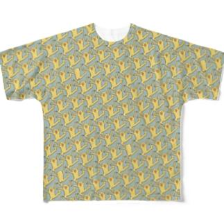 おどり格子 Full Graphic T-Shirt