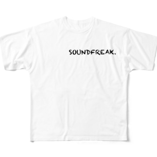 SOUNDFREAK Full graphic T-shirts