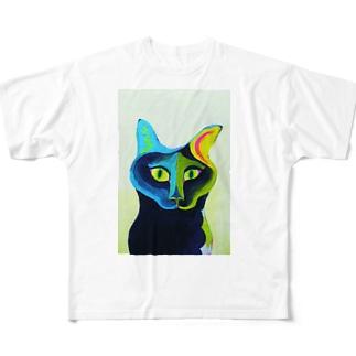 catt All-Over Print T-Shirt