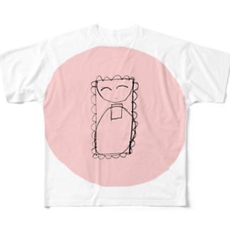 しあわせについて考えていた Full graphic T-shirts