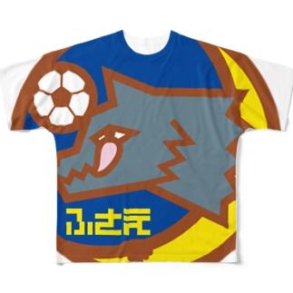 パ紋No.2995 ふさえ Full graphic T-shirts