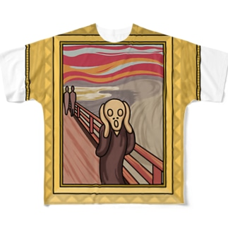 叫び! Full graphic T-shirts
