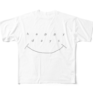 happy days Full graphic T-shirts
