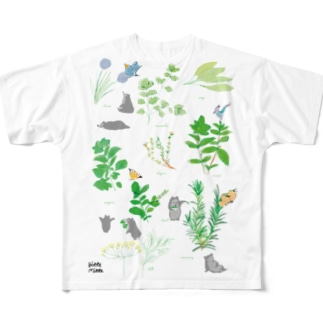 ハーブ All-Over Print T-Shirt