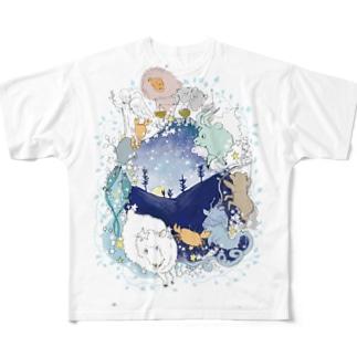 星座リース Full graphic T-shirts