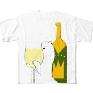 スパークリング Full graphic T-shirts