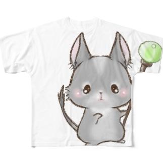 あにまるくえすと All-Over Print T-Shirt