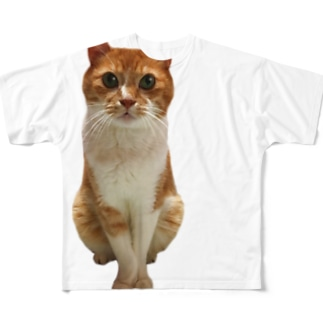 おじじ猫 Full graphic T-shirts