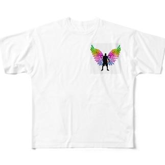 バスケ🏀シンプル🏀 All-Over Print T-Shirt