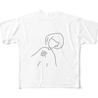 yokuチャン Full graphic T-shirts