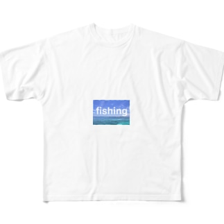 fishing Full graphic T-shirts