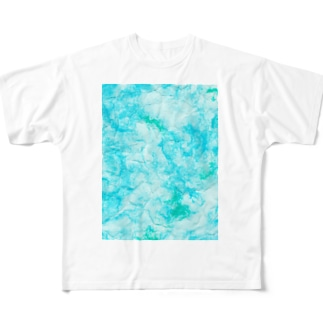 Sky Paper Full graphic T-shirts