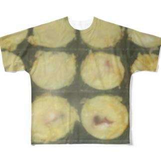 お好きな具を貼り付けて下さい Full graphic T-shirts
