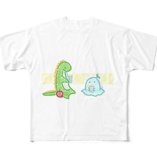 レモンソーダを嗜む Full Graphic T-Shirt
