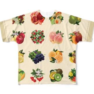 【forseasons】フルーツ盛り合わせ Full Graphic T-Shirt