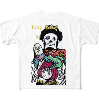KING All-Over Print T-Shirt