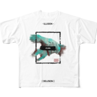 """Survivor"" full graphic T-shirt Full graphic T-shirts"