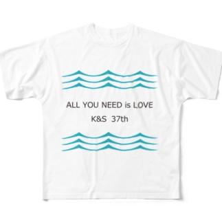 37th その2 Full graphic T-shirts