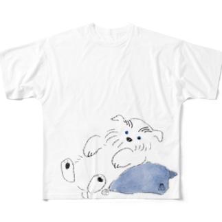 ポイント白しゅな1 Full graphic T-shirts