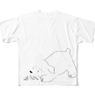 ポイント白しゅな2 Full graphic T-shirts
