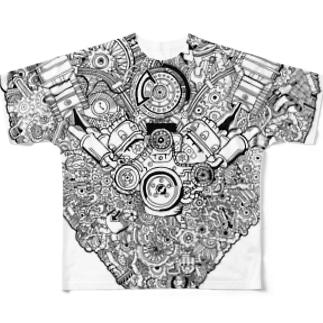 オイルリバー×GOMA Full Graphic T-Shirt