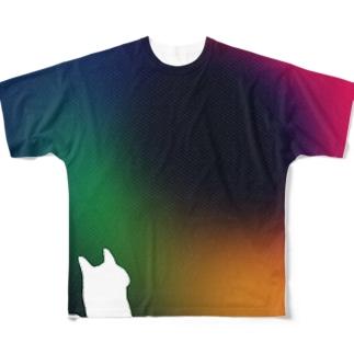 いむ虹 Full graphic T-shirts