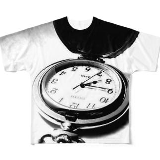 時計 Full graphic T-shirts