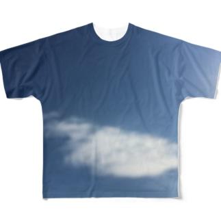 青空 All-Over Print T-Shirt