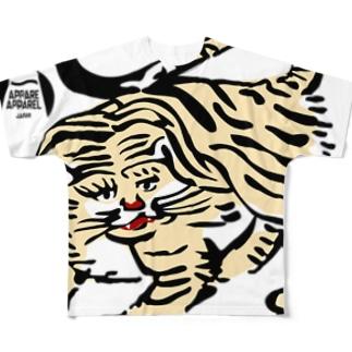虎の巻 Full graphic T-shirts