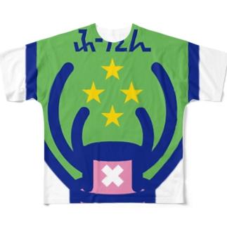 パ紋No.3013 ふーたん Full graphic T-shirts