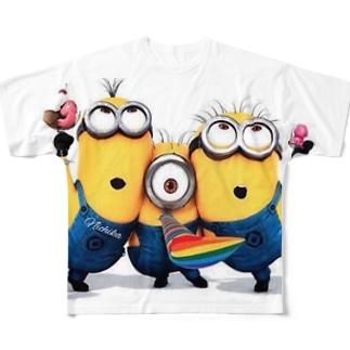 ミニオンズ Full graphic T-shirts