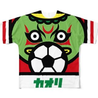 パ紋No.3020 カオリ Full graphic T-shirts