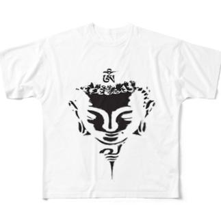 五戒 Full graphic T-shirts
