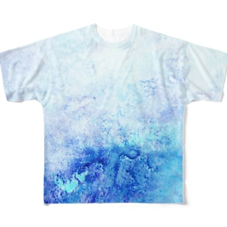 ocean Full graphic T-shirts