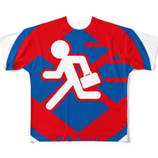 パ紋No.3029 日本ネット Full graphic T-shirts