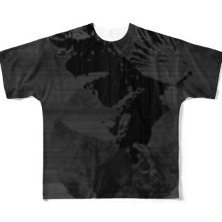 鷲ノ月 Full Graphic T-Shirt