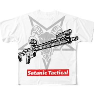 SATANIC TACTICAL Full graphic T-shirts