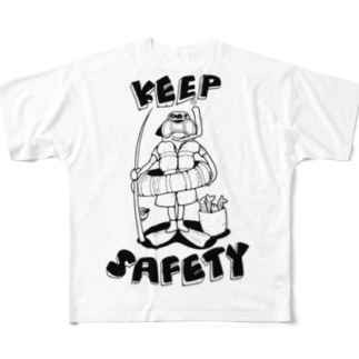 KEEP SAFETY Full Graphic T-Shirt