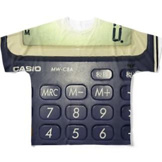 計算人間 Full graphic T-shirts